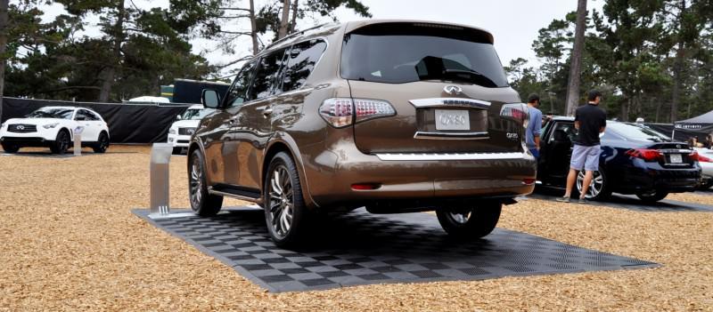 Car-Revs-Daily.com 2015 INFINITI QX80 Limited Pebble Beach 48