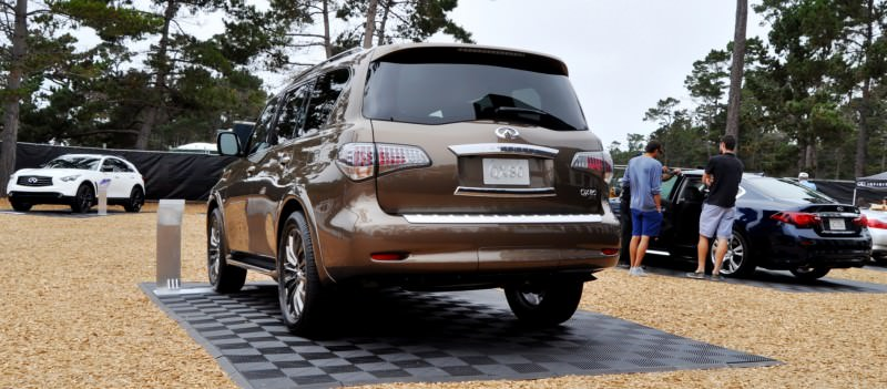 Car-Revs-Daily.com 2015 INFINITI QX80 Limited Pebble Beach 49