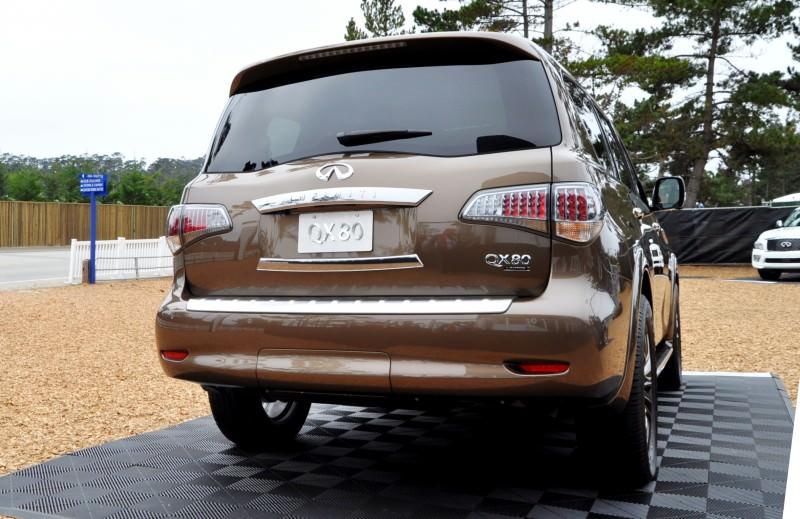 Car-Revs-Daily.com 2015 INFINITI QX80 Limited Pebble Beach 58