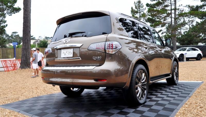 Car-Revs-Daily.com 2015 INFINITI QX80 Limited Pebble Beach 60