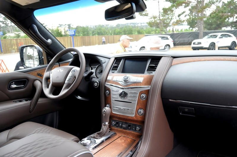 Car-Revs-Daily.com 2015 INFINITI QX80 Limited Pebble Beach 92