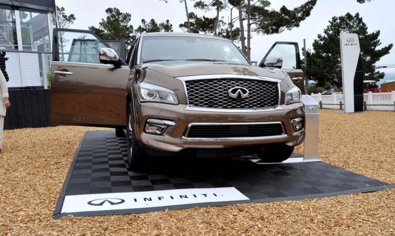Car-Revs-Daily.com 2015 INFINITI QX80 Limited Pebble Beach 94