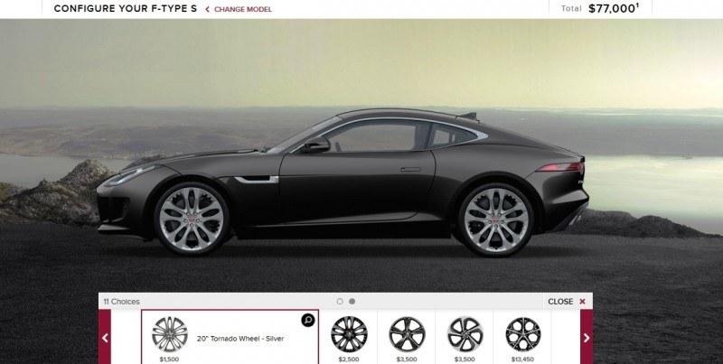 Car-Revs-Daily.com 2015 JAGUAR F-Type S Coupe - Options, Exteriors and Interior Colors Detailed10