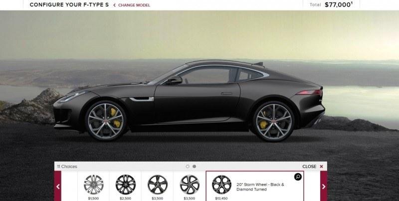 Car-Revs-Daily.com 2015 JAGUAR F-Type S Coupe - Options, Exteriors and Interior Colors Detailed14