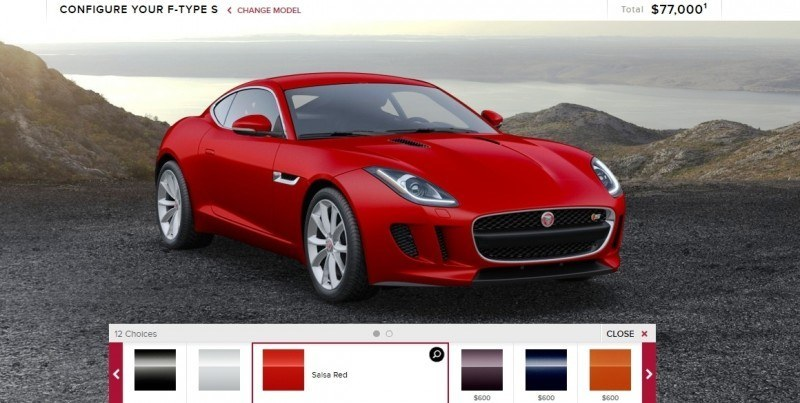 Car-Revs-Daily.com 2015 JAGUAR F-Type S Coupe - Options, Exteriors and Interior Colors Detailed3
