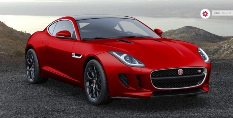 Car-Revs-Daily.com 2015 JAGUAR F-Type S Coupe - Options, Exteriors and Interior Colors Detailed32