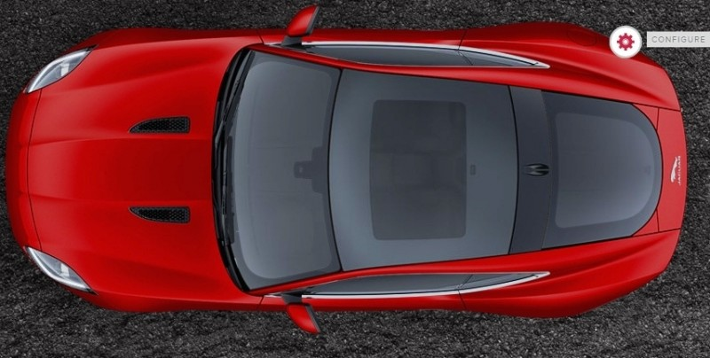 Car-Revs-Daily.com 2015 JAGUAR F-Type S Coupe - Options, Exteriors and Interior Colors Detailed39