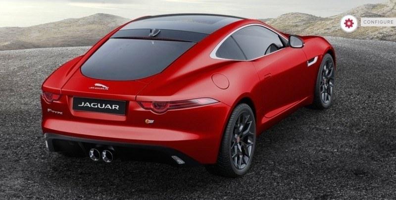 Car-Revs-Daily.com 2015 JAGUAR F-Type S Coupe - Options, Exteriors and Interior Colors Detailed42