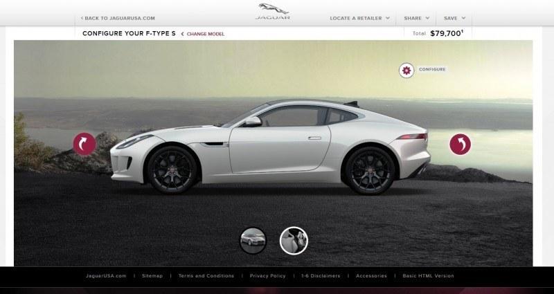 Car-Revs-Daily.com 2015 JAGUAR F-Type S Coupe - Options, Exteriors and Interior Colors Detailed57
