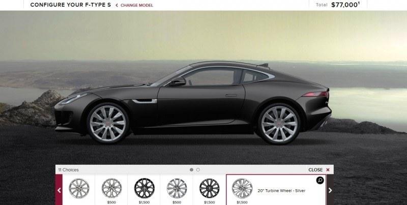 Car-Revs-Daily.com 2015 JAGUAR F-Type S Coupe - Options, Exteriors and Interior Colors Detailed9