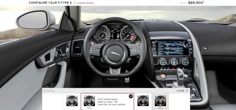 Car-Revs-Daily.com 2015 JAGUAR F-Type S Coupe - Options, Exteriors and Interior Colors Detailed97