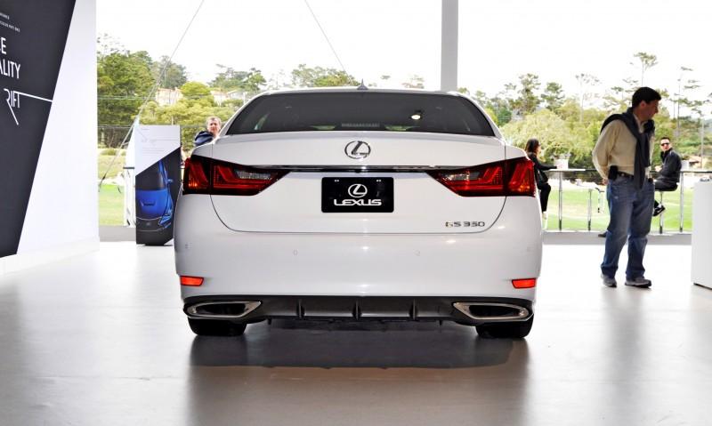 Car-Revs-Daily.com 2015 Lexus GS350 Crafted Line Pebble Beach 30