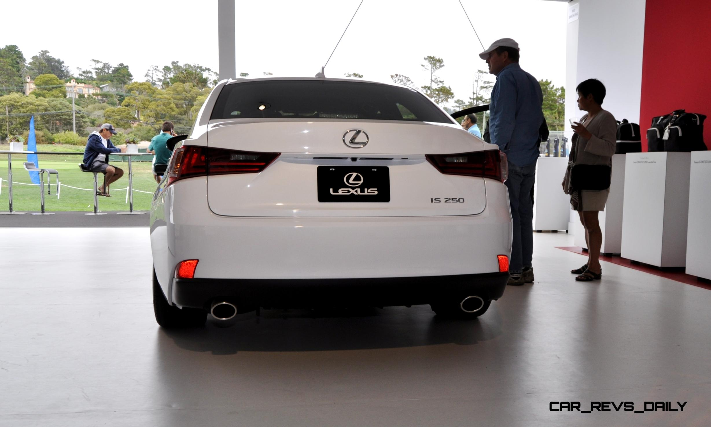 Car Revs Daily 2015 Lexus IS250 F Sport CRAFTED LINE 17