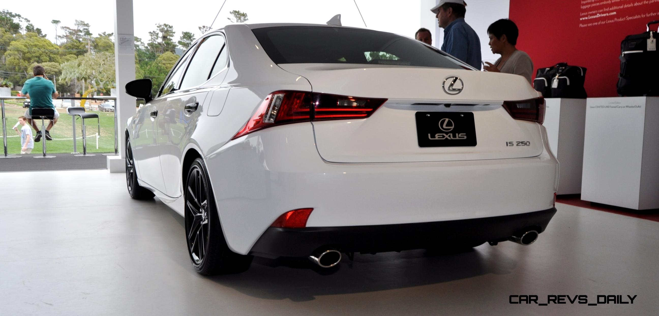 2015 Lexus IS250 F Sport CRAFTED LINE in 32 All New High Res s