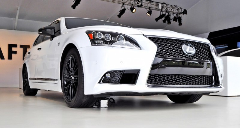Car-Revs-Daily.com 2015 Lexus LS460 F Sport Crafted Line Is Most-Enhanced by Glossy Black and White Makeover 23