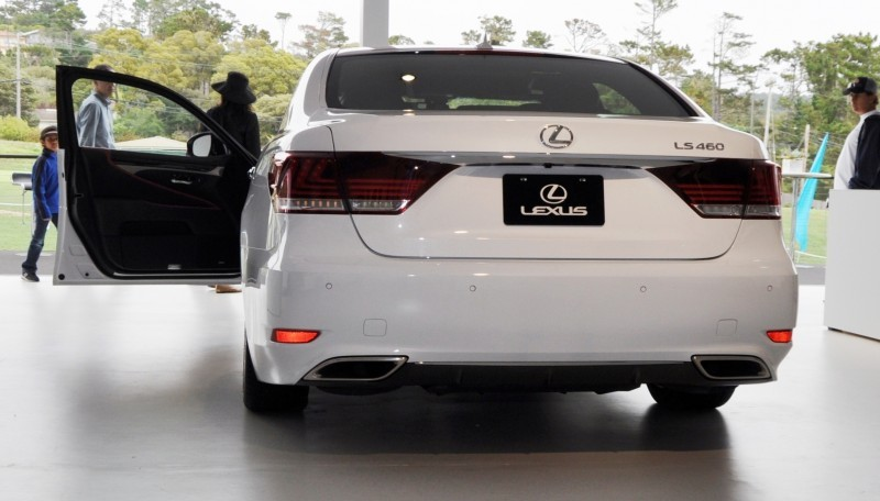 Car-Revs-Daily.com 2015 Lexus LS460 F Sport Crafted Line Is Most-Enhanced by Glossy Black and White Makeover 4