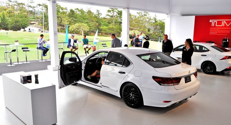 Car-Revs-Daily.com 2015 Lexus LS460 F Sport Crafted Line Is Most-Enhanced by Glossy Black and White Makeover 6