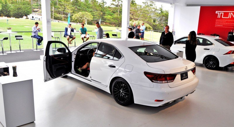 Car-Revs-Daily.com 2015 Lexus LS460 F Sport Crafted Line Is Most-Enhanced by Glossy Black and White Makeover 8