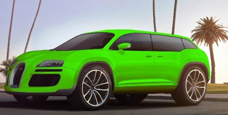 Car-Revs-Daily.com 2017 BUGATTI SUV Renderings 3