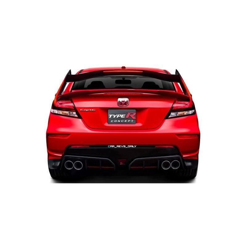 Car-Revs-Daily.com Exclusive 2016 USA Honda Civic Type R Renderings 2