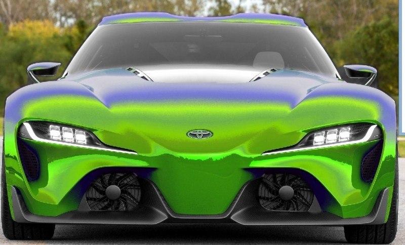 Car-Revs-Daily.com FT-1 Digital Colorizer - 150 Shades of 2016 TOYOTA SUPRA TURBO 10