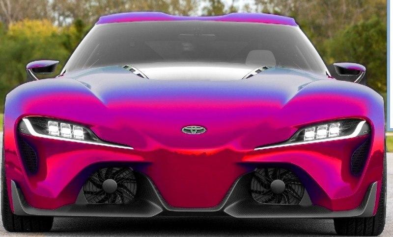 Car-Revs-Daily.com FT-1 Digital Colorizer - 150 Shades of 2016 TOYOTA SUPRA TURBO 15