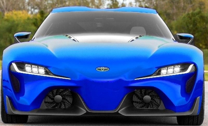 Car-Revs-Daily.com FT-1 Digital Colorizer - 150 Shades of 2016 TOYOTA SUPRA TURBO 33