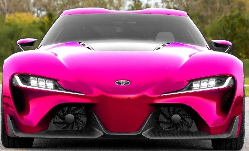 Car-Revs-Daily.com FT-1 Digital Colorizer - 150 Shades of 2016 TOYOTA SUPRA TURBO 46