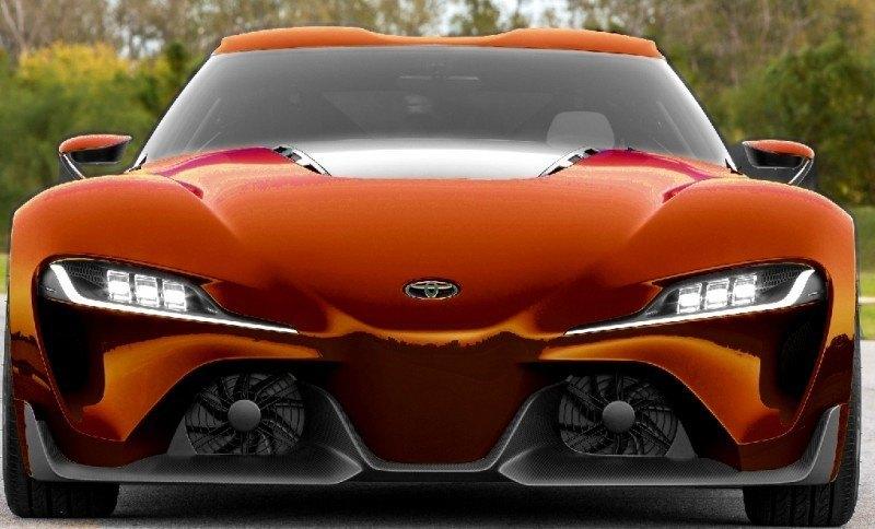Car-Revs-Daily.com FT-1 Digital Colorizer - 150 Shades of 2016 TOYOTA SUPRA TURBO 50