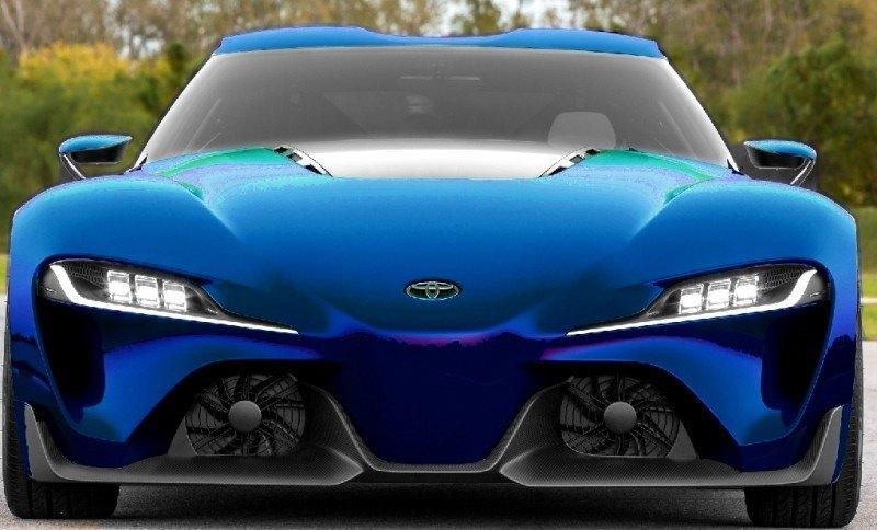 Car-Revs-Daily.com FT-1 Digital Colorizer - 150 Shades of 2016 TOYOTA SUPRA TURBO 72