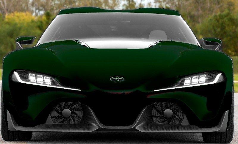 Car-Revs-Daily.com FT-1 Digital Colorizer - 150 Shades of 2016 TOYOTA SUPRA TURBO 89
