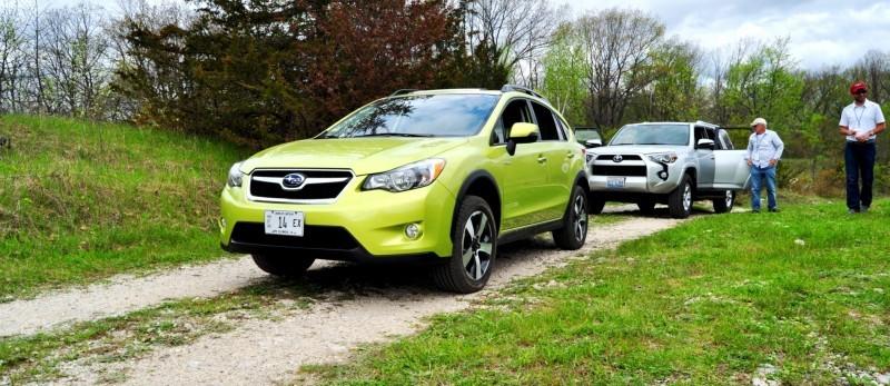 Car-Revs-Daily.com Goes Off-Roading in 2014 Subaru XV Crosstrek Hybrid 15