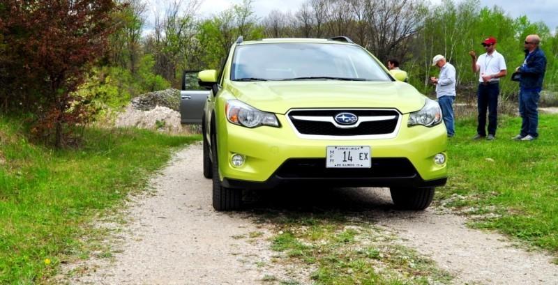 Car-Revs-Daily.com Goes Off-Roading in 2014 Subaru XV Crosstrek Hybrid 24
