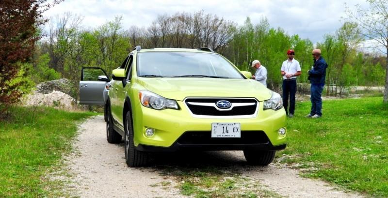 Car-Revs-Daily.com Goes Off-Roading in 2014 Subaru XV Crosstrek Hybrid 25
