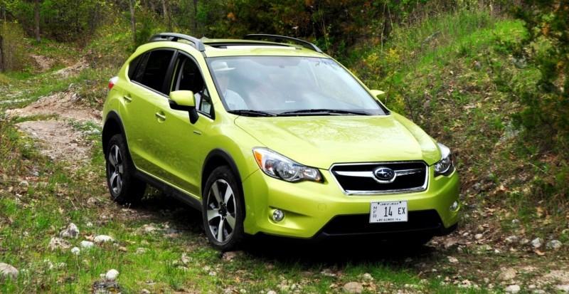 Car-Revs-Daily.com Goes Off-Roading in 2014 Subaru XV Crosstrek Hybrid 34