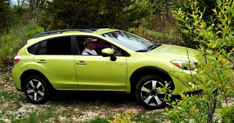 Car-Revs-Daily.com Goes Off-Roading in 2014 Subaru XV Crosstrek Hybrid 38