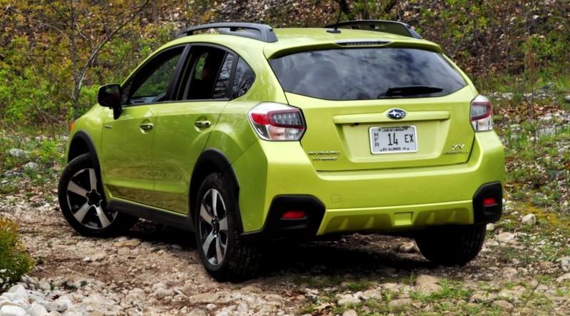 Car-Revs-Daily.com Goes Off-Roading in 2014 Subaru XV Crosstrek Hybrid 42