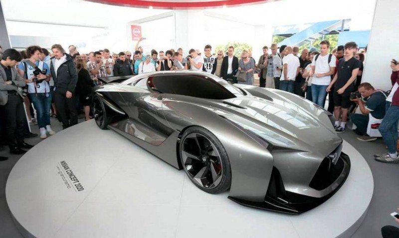 Car-Revs-Daily.com Nissan NC2020 Vision Gran Turismo Makes Real-Life Debut at Goodwood FoS 15