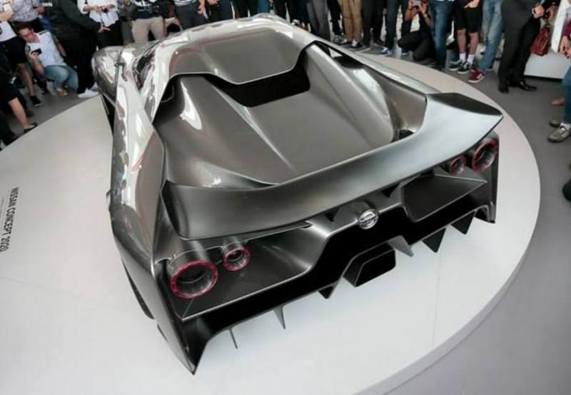 Car-Revs-Daily.com Nissan NC2020 Vision Gran Turismo Makes Real-Life Debut at Goodwood FoS 2