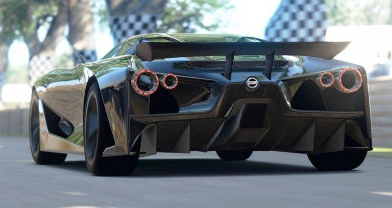 Car-Revs-Daily.com Nissan NC2020 Vision Gran Turismo Makes Real-Life Debut at Goodwood FoS 23