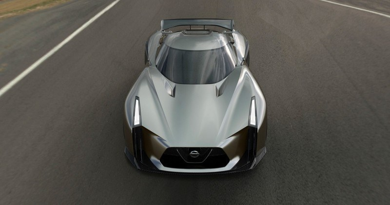 Car-Revs-Daily.com Nissan NC2020 Vision Gran Turismo Makes Real-Life Debut at Goodwood FoS 35