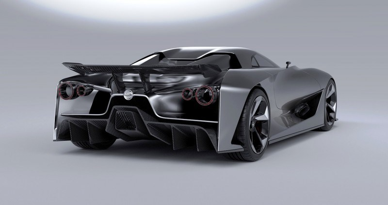 Car-Revs-Daily.com Nissan NC2020 Vision Gran Turismo Makes Real-Life Debut at Goodwood FoS 45