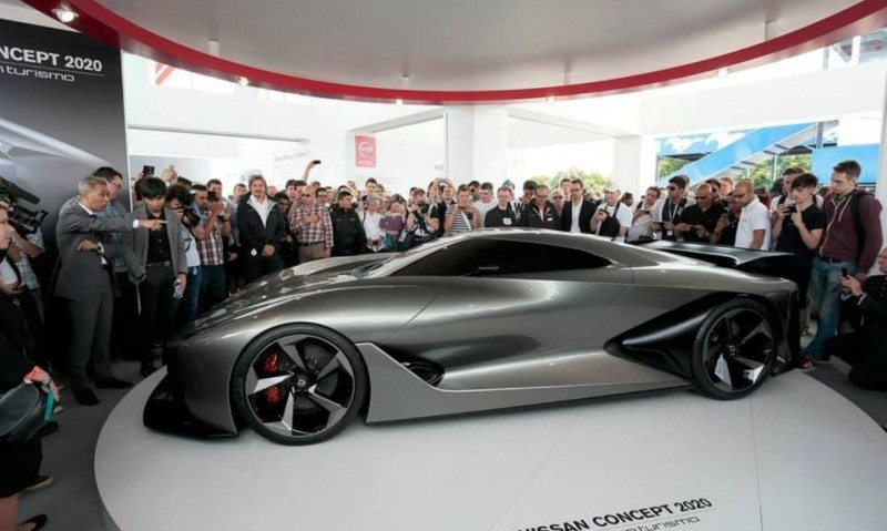 Car-Revs-Daily.com Nissan NC2020 Vision Gran Turismo Makes Real-Life Debut at Goodwood FoS 7