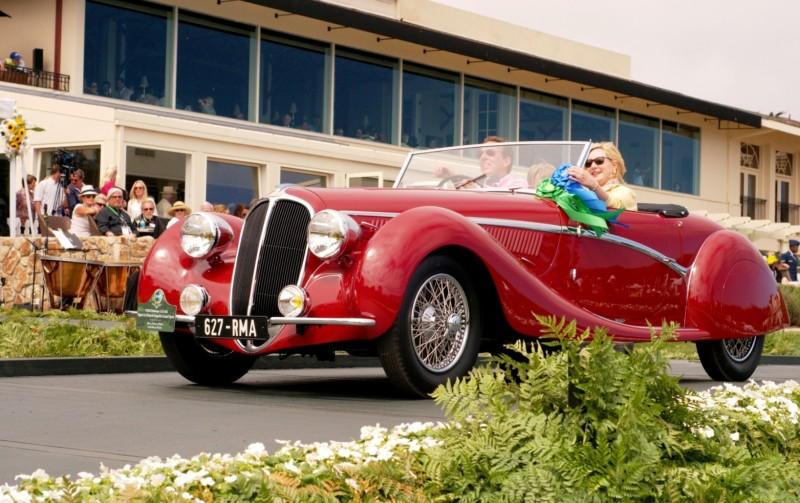 Car-Revs-Daily.com PEBBLE BEACH 2014 Concours - Award Winners Showcase by Entry Class 105