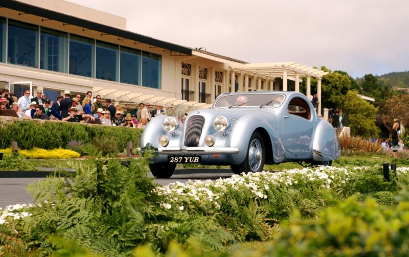 Car-Revs-Daily.com PEBBLE BEACH 2014 Concours - Award Winners Showcase by Entry Class 106
