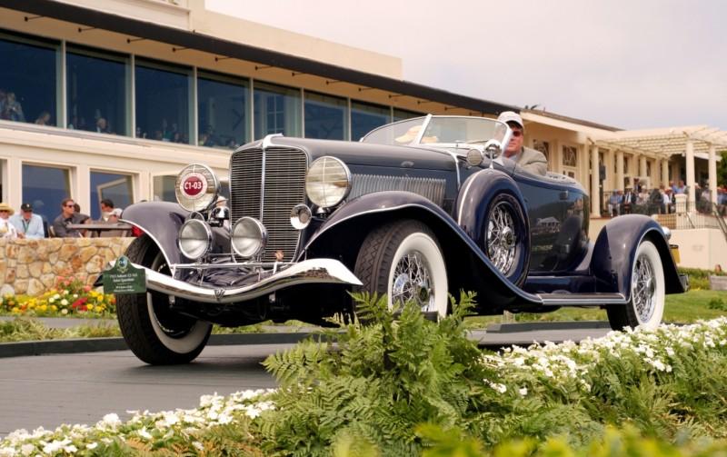 Car-Revs-Daily.com PEBBLE BEACH 2014 Concours - Award Winners Showcase by Entry Class 8