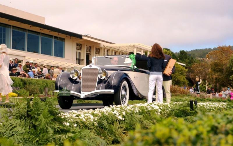 Car-Revs-Daily.com PEBBLE BEACH 2014 Concours - Award Winners Showcase by Entry Class 91