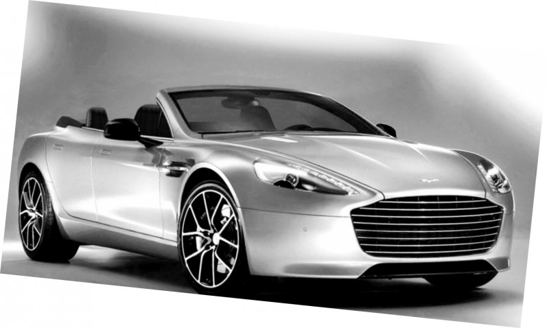 Car-Revs-Daily.com Renderings - Aston Martin RAPIDE VOLANTE from NCE 4