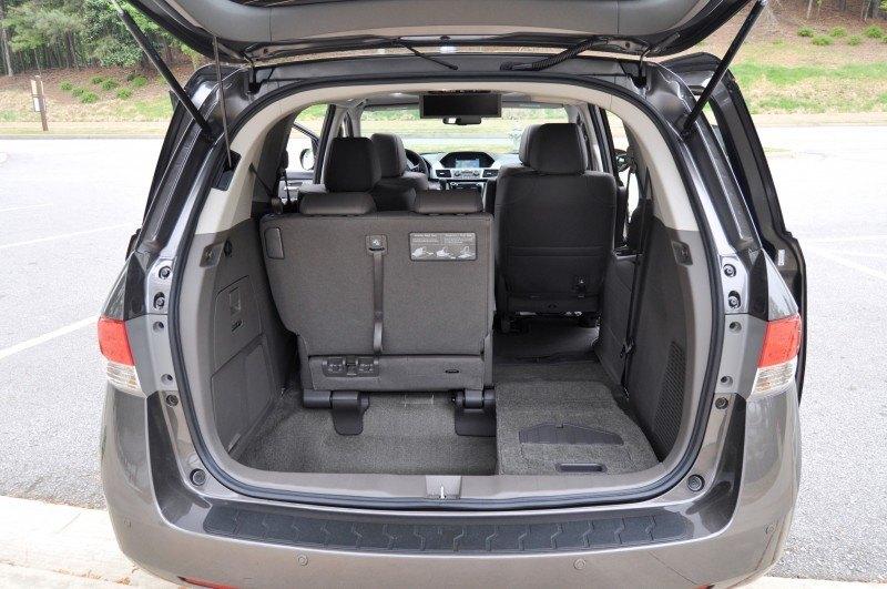 Car-Revs-Daily.com Road Test Review - 2014 Honda Odyssey Touring Elite 21