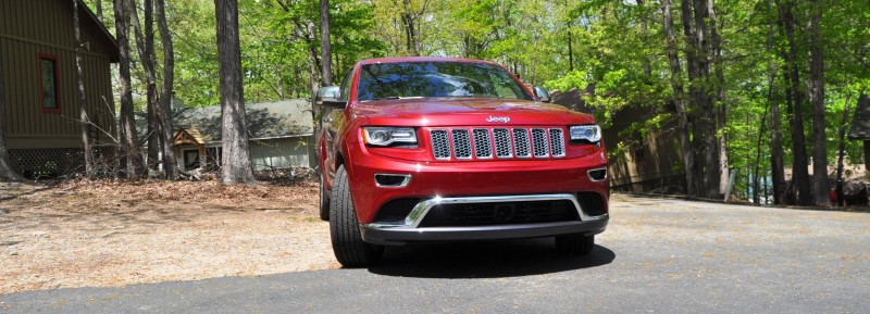 Car-Revs-Daily.com Road Test Review - 2014 Jeep Grand Cherokee Summit V6 1